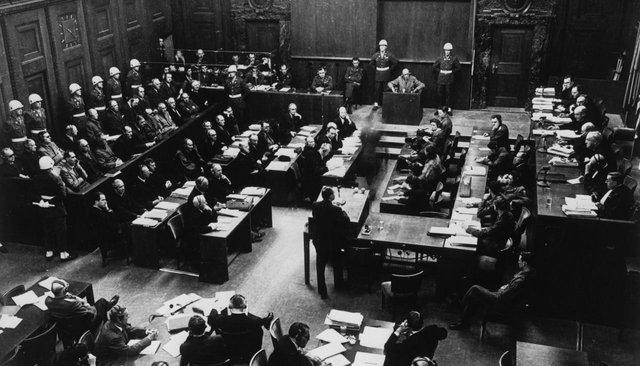 НаНюрнбергском процессе войска ССбыли признаны преступной организацией