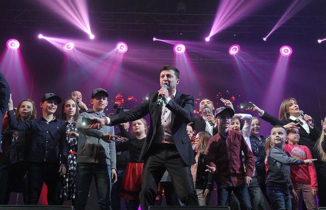 Выступление Владимира Зеленского вБроварах (Киевская область), 29марта 2019 года