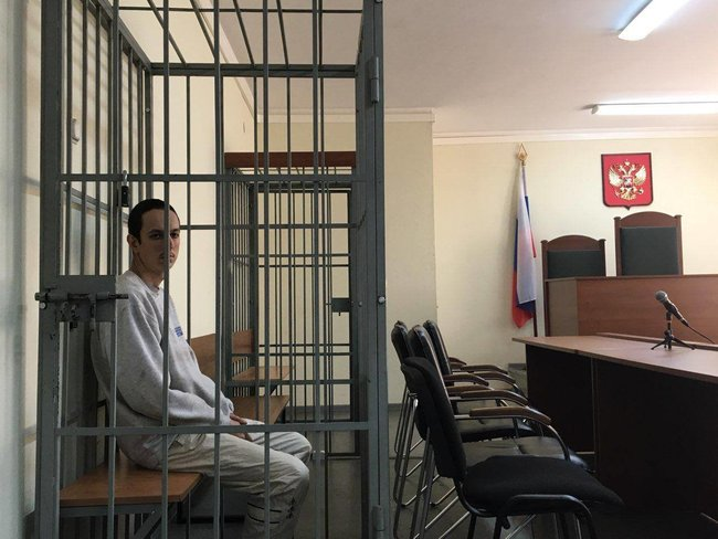Vyacheslav Lukichev in court, November 2019