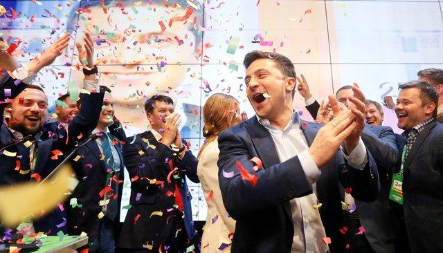 Владимир Зеленский побеждает навыборах президента Украины. Главное