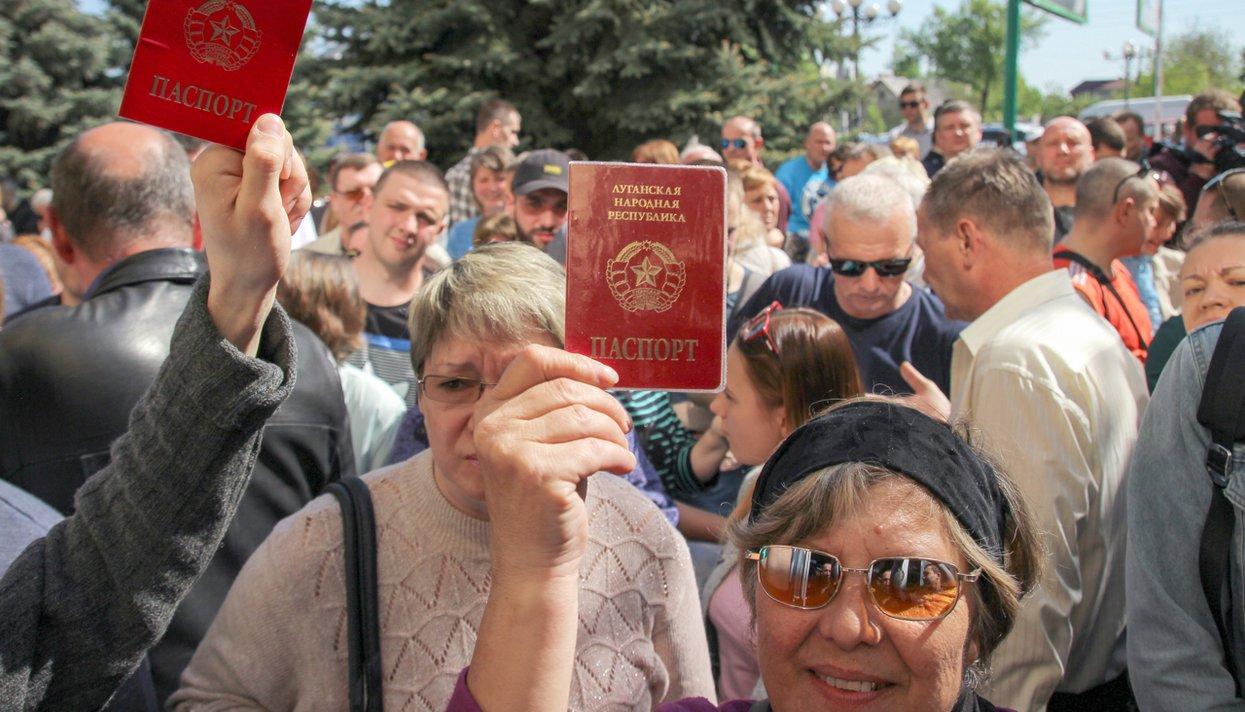 Помощь бежансам из луганска в ростове адрес