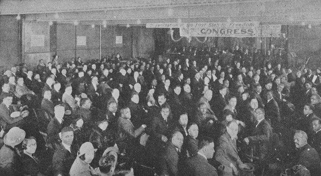 Американский негритянский трудовой конгресс, Нью-Йорк, 1929 год
