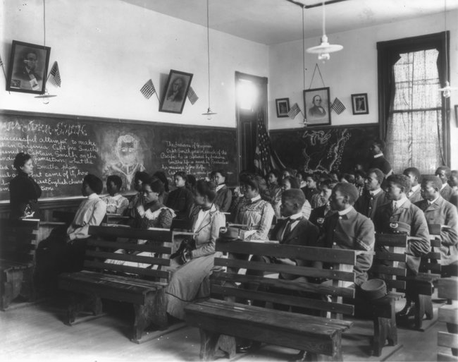 Исторический класс вИнституте Таскиги вАлабаме, 1902 год