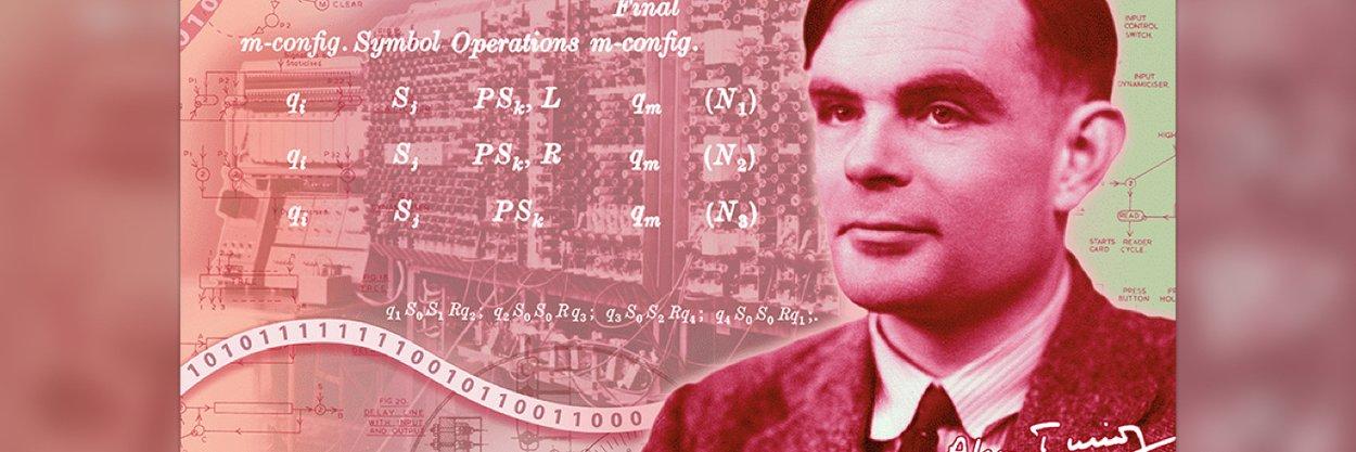 Портрет математика Алана Тьюринга поместят набанкноту в50 фунтов