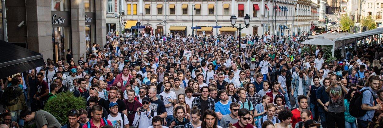Рестораторы ивладельцы магазинов вслед задеятелями культуры объяснили, почему протесты вМоскве— это очень плохо. Кратчайший пересказ