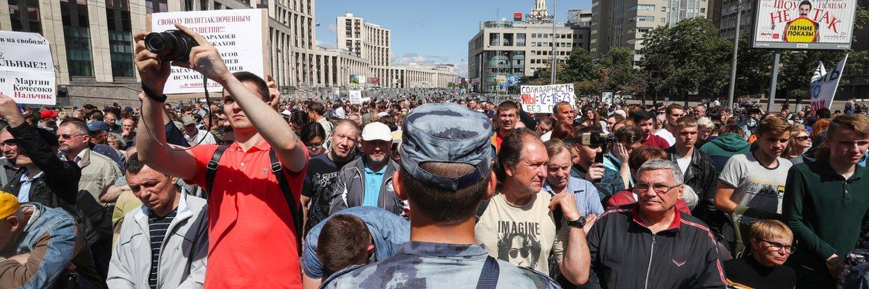 Как власти предлагают ограничить право митинговать вМоскве. Карта