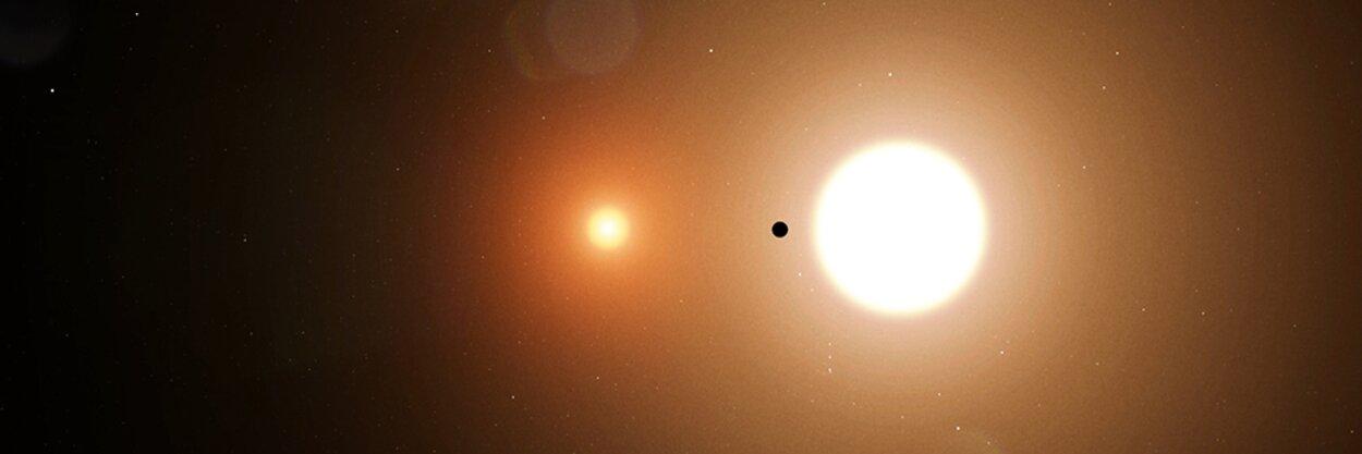 17-летний школьник помог NASA открыть экзопланету. Она всемь раз тяжелее Земли ивращается сразу вокруг двух звезд