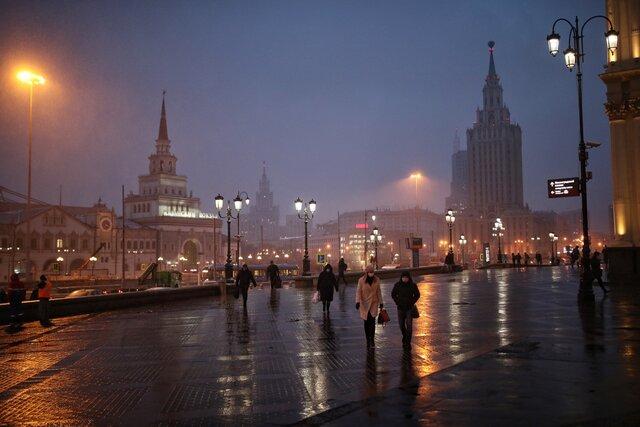 Как выглядит Москва впервый день после принятия жестких карантинных мер— «полной самоизоляции». Фотографии Евгения Фельдмана