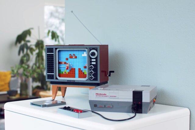 ИзLEGO можно будет построить приставку Nintendo иретро-телевизор. Незнаем, зачем это нужно. Ноуже хочется!
