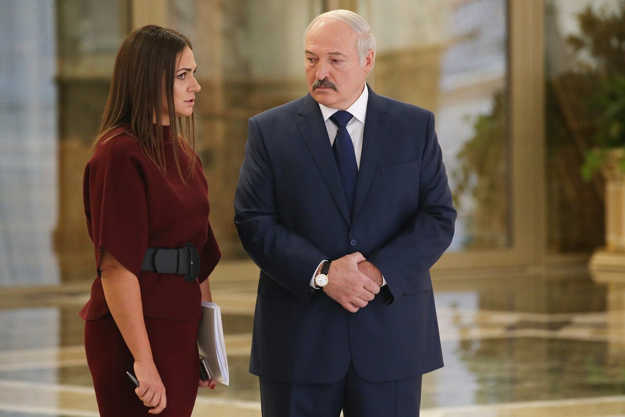 Dictatorship is our brand Belarusian President Alexander Lukashenko owes his tenuous grasp on reality largely to his press secretary, Natalya Eismont. Here's how she gained such influence. — Meduza