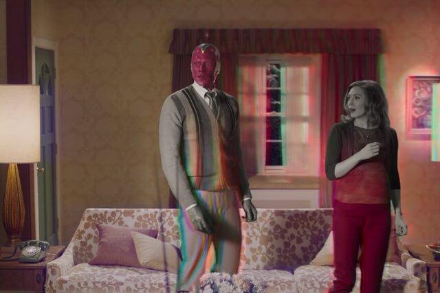 Вышел трейлер сериала «Ванда/Вижн»— огероях Элизабет Олсен иПола Беттани изкиновселенной Marvel. Ничего непонятно, ноочень интересно