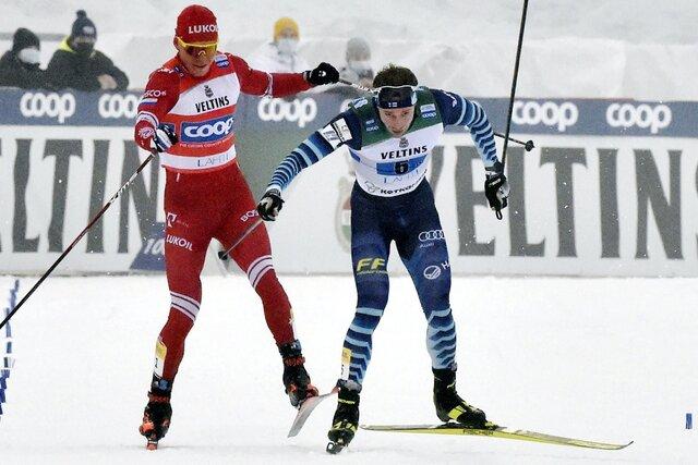 Российский лыжник на соревнованиях в Финляндии после финиша сбил с ног опередившего его соперника. Результат сборной России отменен, делом занялась п