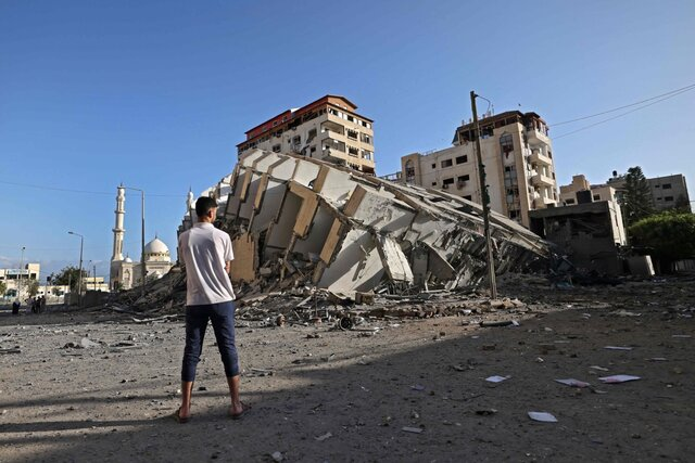 Последствия ракетных обстрелов иавиаударов вИзраиле исекторе Газа. Фотографии