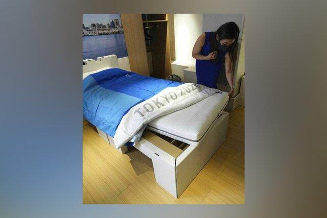 Участникам Олимпиады в Токио придется спать на картонных антисекс-кроватях. Одновременно спортсменам выдадут 160 тысяч презервативов  но их тоже прос