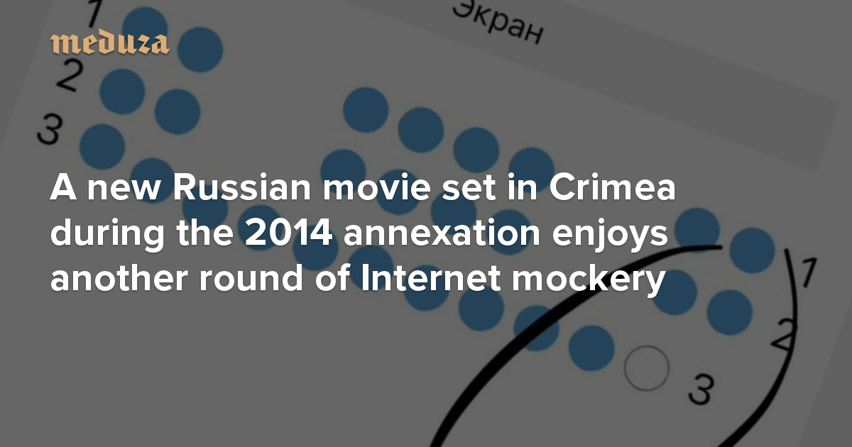 A New Russian Movie Set In Crimea During The 2014 Annexation Enjoys