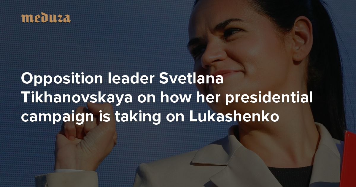 Opponent Svetlana Tikhanovskaya has left Belarus for ...  |Svetlana Tikhanovskaya