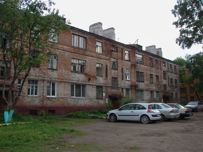 9 Tsiolkovsky Street before its renovation.