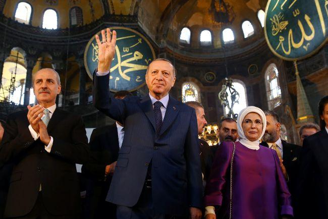 Очень скоро Святая София в Стамбуле может снова стать мечетью ...
