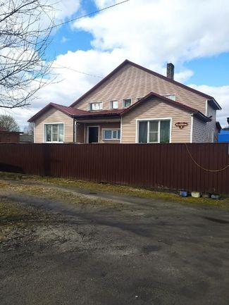 Pudozh. Alyona Mironova's mother's house