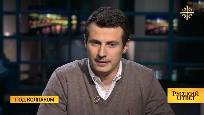 Максим Перлин вэфире интернет-канала «Царьград»