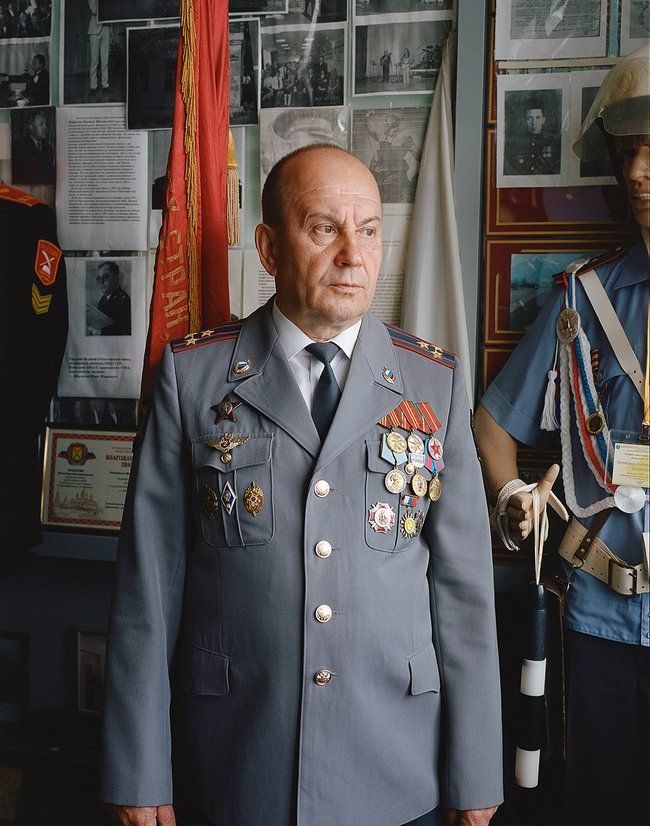 Vyacheslav Krabalov, head of the Arzamas State Motor Vehicle Inspectorate in 1998. Photo taken in June 2018.