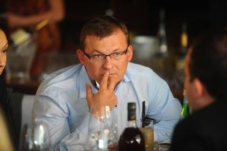 Sergei Lavrukhin, the financial expert who was hired by Mikhail Prokhorov to put things right in Zhivi! Media Group.