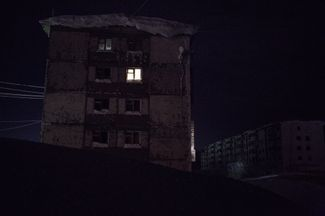 In many apartment complexes throughout Vorkuta, there are just one or two families left.