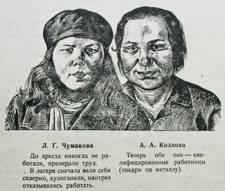 "Fragment from the newspaper ""Perekovka,"" July 20, 1933."