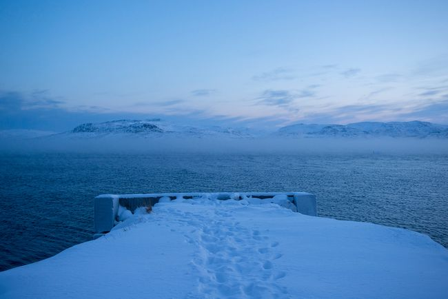 View of the Barents Sea